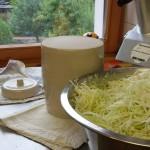 Sauerkrautherstellung